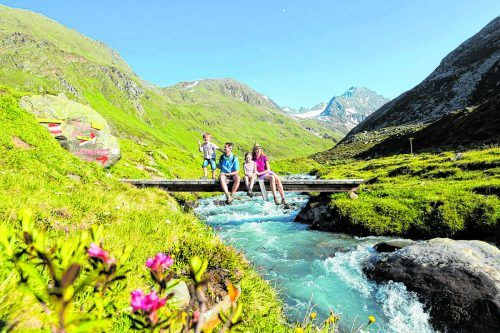 Südlich von Innsbruck locken die Bergsteigerdörfer im Sellraintal.Ibk Tourismus/ Mario Webhofer