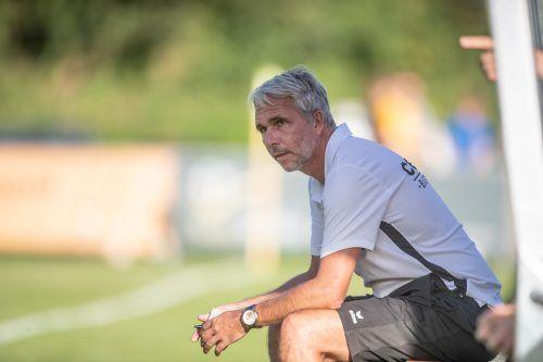 Trainer Rainer Spiegel hat Göfis an die Spitze der Vorarlbergliga geführt.VN/SAMS