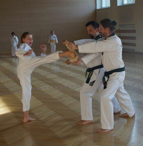 Trainingsstart in Bludenz.TKD Dojang Bludenz