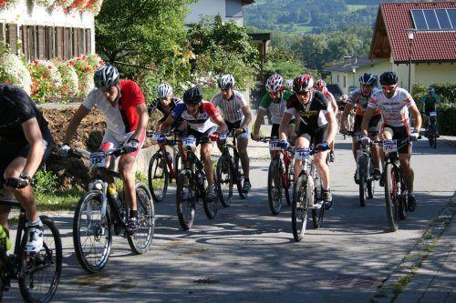 Um 10 Uhr fällt am Sonntag der Startschuss für das diesjährige Gamp-Bike-Rennen.EM