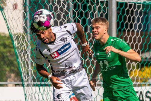 Unter anderem Uelder Barbosa Mendes (l.) fehlt im Cup gegen Lafnitz.STIPLOVSEK