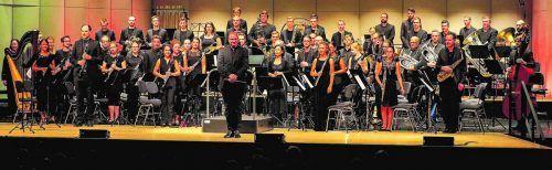 """Unter dem Motto """"Vertraue dem Unvertrauten"""" konzertiert das Orchester Windwerk am Freitag in Hirschegg und am Samstag in Götzis. WINDWERK"""