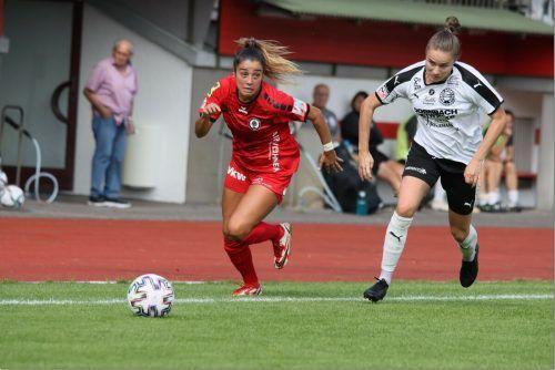 US-Girl Genesis Soraya Castrellon zählte zu den Aktivposten beim FC Dornbirn.knobel