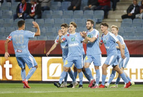 Valentino Müller erzielte im Cup gegen den GAK das wichtige 1:0 für WSG Tirol.gepa