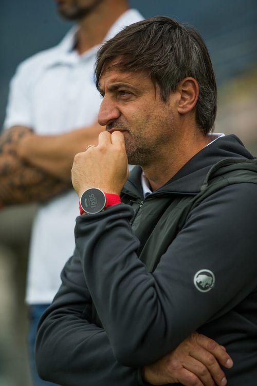 VfB-Trainer Goran Milovanovic sah einen verdienten Heimsieg seiner Elf. steurer