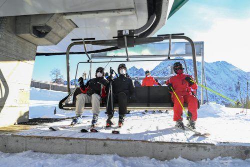 Viele Auflagen fallen: In der kommenden Wintersaison wird es in Vorarlbergs Skigebieten keine Kapazitätsbeschränkungen und keine Abstandsregeln geben.O. Lerch