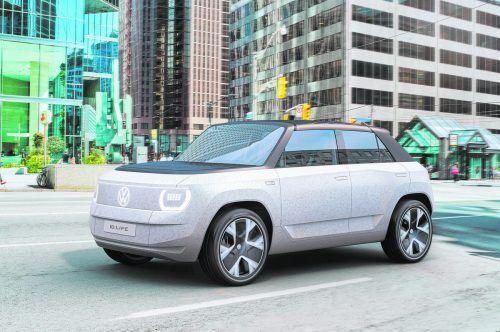 VW ID. Life: Prototyp. Vorschau auf den kommenden frontgetriebenen Klein-Batterieelektriker der Wolfsburger. 2025 ist Start-Zeithorizont.