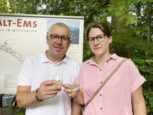 Wolfgang Haberl und Sabrina Ebner waren ebnso mit dabei.