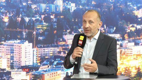 Wolfgang List warnt vor einem Unterschätzen der Risiken. Vorarlberg Live