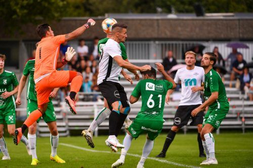 Wolfurt gegen Dornbirner SV: Bereits in der Vergangenheit lieferten beide Teams brisante Duelle, heute geht es um Platz eins.lerch
