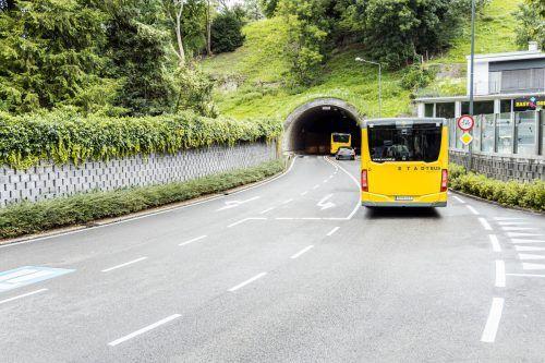 Ziel des Testlaufs ist, die Staubildung im Ardetzenbergtunnel möglichst klein zu halten. Stadt