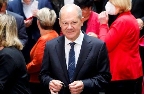76 Prozent wünschen sich den SPD-Kandidaten als Regierungschef. reuters