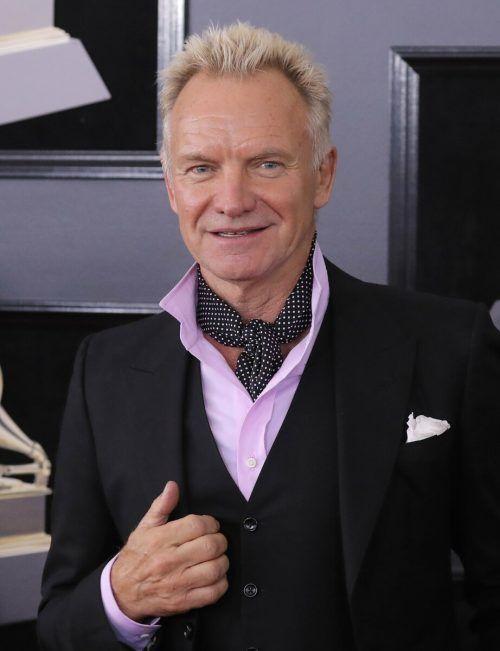 "Als Frontmann der Band ""The Police"" wurde Sting weltberühmt. Reuters"