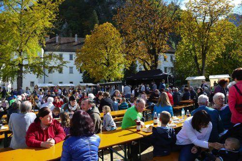 Am morgigen Samstag lädt die Stadt Hohenems zum Herbstfest auf dem Schlossplatz.Stadt