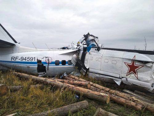 An Bord der Unglücksmaschine waren Fallschirmspringer eines regionalen Aeroclubs.
