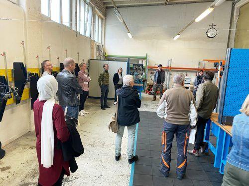 Anfang Oktober wurde den Branchenmitgliedern der WKO die neue Fahrradwerkstatt in Frastanz vorgestellt.Aqua Mühle