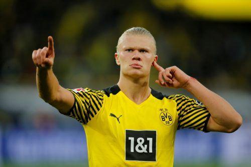 BVB-Star Erling Haaland wird angeblich von Real Madrid umworben.Reuters