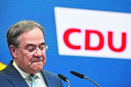 CDU-Chef Armin Laschet hat gestern einen personellen Neuanfang seiner Partei angekündigt. AFP