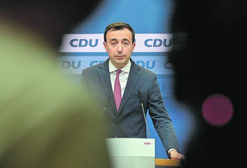CDU-Generalsekretär Paul Ziemiak kündigte gestern einen Sonderparteitag und einen komplett neuen Bundesvorstand an.AFP