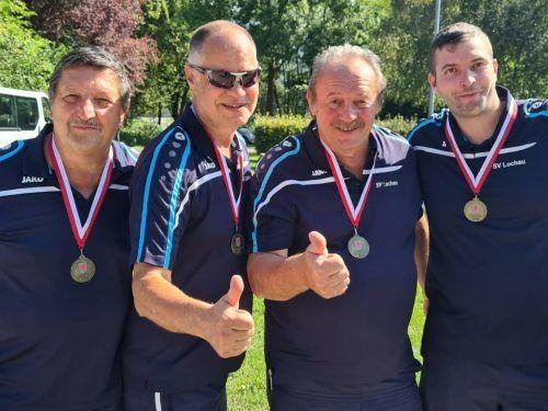 Das erfolgreiche Lochauer Team. svl