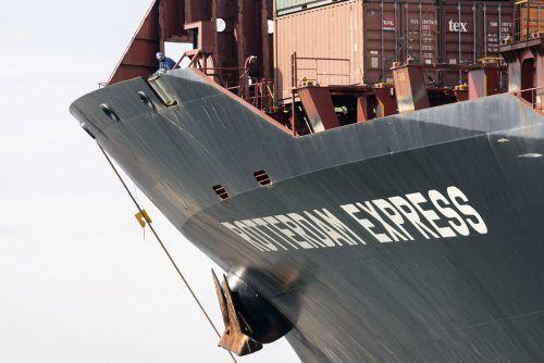 Das Frachtschiff soll sich oberhalb der beschädigten Pipeline befunden haben. AP