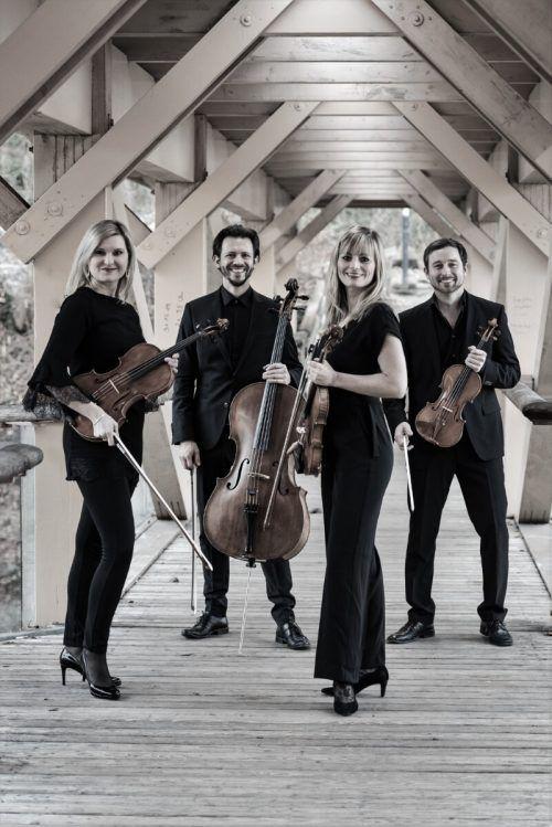 Das neu formierte Rhenus Quartett ist am Sonntag zu Gast in der Villa Falkenhorst. Veranstalter