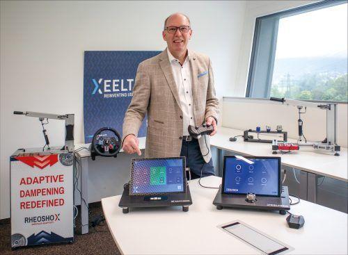 """Das Unternehmen XeelTech bedient mit seinen Innovationen """"Hapticore"""" und """"Rheoshox"""" Topkunden auf der ganzen Welt. XeelTech"""