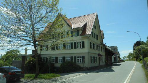 """Der """"Adler"""" ist heute immer noch ein beliebtes Ziel für Besucher und Bewohner der Bregenzer Fluh. fst"""