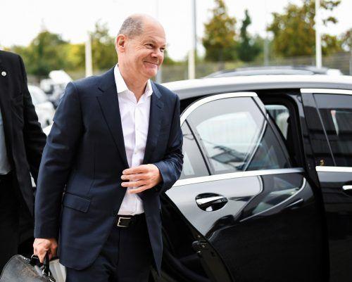 Der deutsche Finanzminister Olaf Scholz könnte noch vor Weihnachten zum Bundeskanzler aufsteigen. Reuters