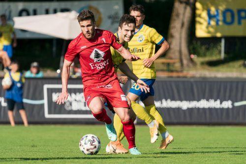 Der FC Egg will nach Admira Dornbirn nun mit dem VfB Hohenems den nächsten Spitzenreiter der VN.at-Eliteliga zu Fall bringen.Stiplovsek