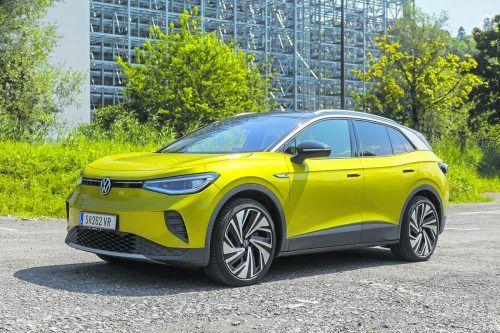 Der ID.4 ist eine Elektro-SUV im Format des VW Tiguan. Mit seinem futuristischen Design ist er ein echter Hingucker.VN/Paulitsch