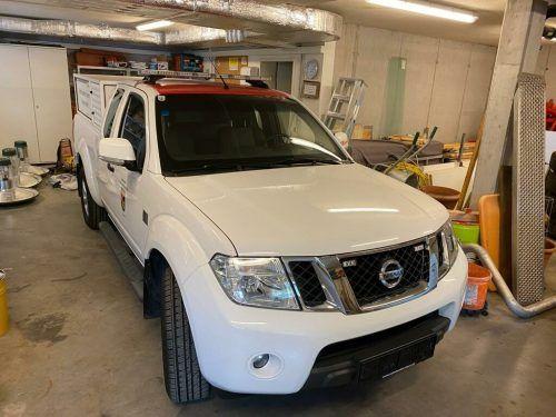 Der Pick-up ist das neue Bauhoffahrzeug der Gemeinde St. Anton.Gemeinde St. Anton