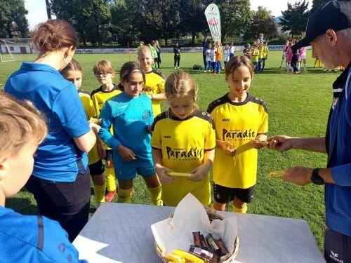 Der VfB war Ausrichter des U12-Mädchenturniers.VfB