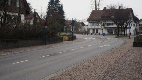 Die ehemalige Bäckerei-Konditorei Nuderscher ist heute eine Filiale der Bäckerei Mangold.VN