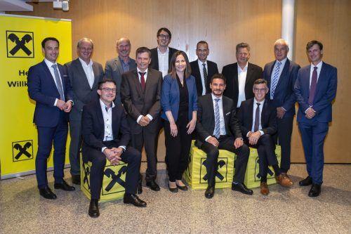 Die Raiffeisenbank im Walgau hielt kürzlich ihre Generalversammlung im Ramschwagsaal Nenzing ab.Raiba