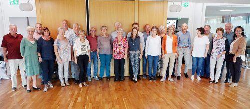 Die Tanzfreunde freuten sich über den erfolgreichen Start der Herbstkurse.Seniorenbund