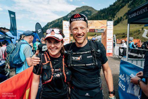 Die Trans Alpine Run-Teilnehmer Sigrid und Dieter Reis.Dieter Reis