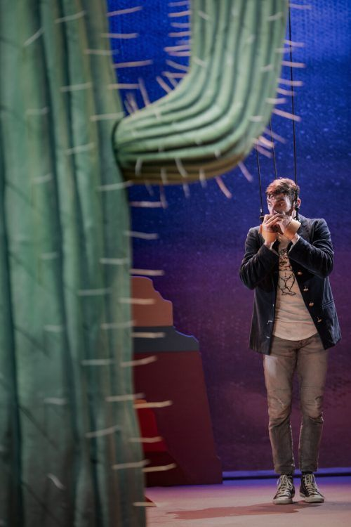 """Die Vorarlberg-Premiere von """"All you can be! Eurydike und Orpheus"""" fand am Freitagabend am Landestheater statt. joel schweizer"""