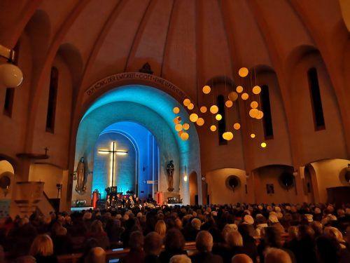 Ein außergewöhnliches Klangerlebnis erwartet die Chorkonzert-Besucher.Stadt