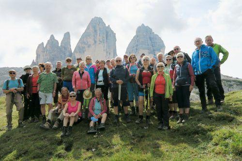 Ein herrliche Wanderwoche im Pustertal erlebten die Wanderfreunde vom Seniorenbund. Seniorenbund
