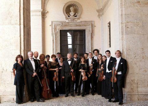 Europa Galante gestaltet den Auftakt der Bregenzer Meisterkonzerte mit Werken von Vivaldi.ANNE DE LAbRA