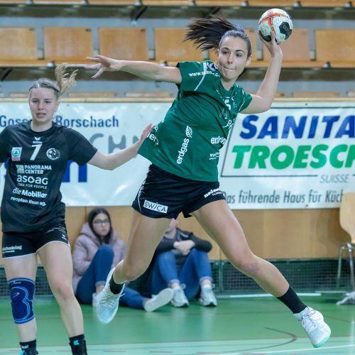 Fabienne Tomasini bestritt gegen Dänemark ihr 20. A-Länderspiel.Verein