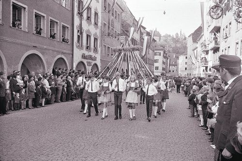 Feldkirch, Umzug zur 750-Jahr-Feier, 1968