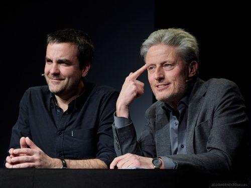 Florian Klenk und Florian Scheuba setzen sich am kommenden Freitag mit der heimischen Politik auseinander.Spielboden