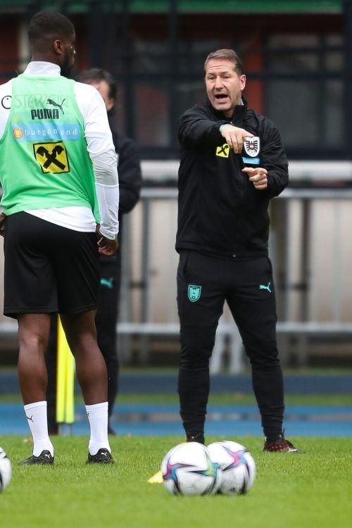 Gibt sich weiter kämpferisch: ÖFB-Teamchef Franco Foda.gepa