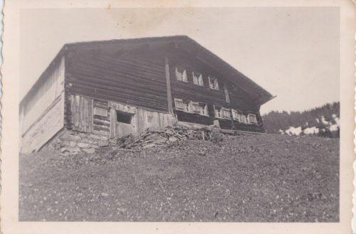 Solche Bilder (Haus von M. L. Bertsch vor 100 Jahren) sind gesucht.Bischof
