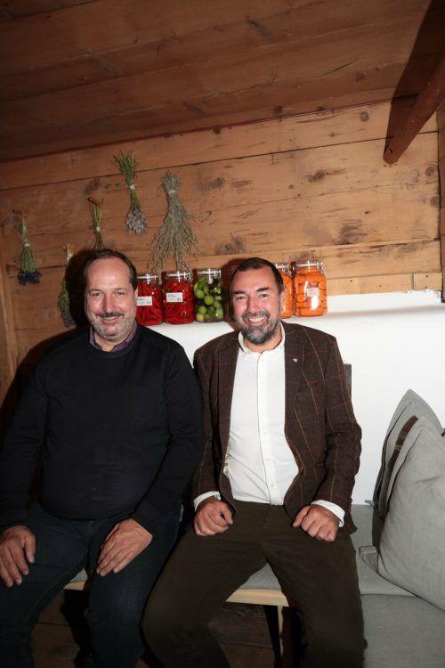 Hannes Konzett und WKV-Spartenobmann Markus Kegele.