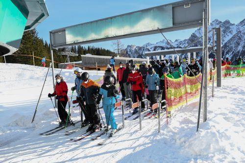 Heute wird beim Wintergipfel im Landhaus in Bregenz das Corona-Präventionskonzept präsentiert.VN/Lerch