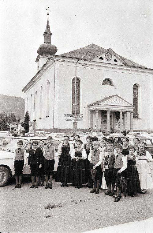 Hittisau, Pfarrkirche, 1968