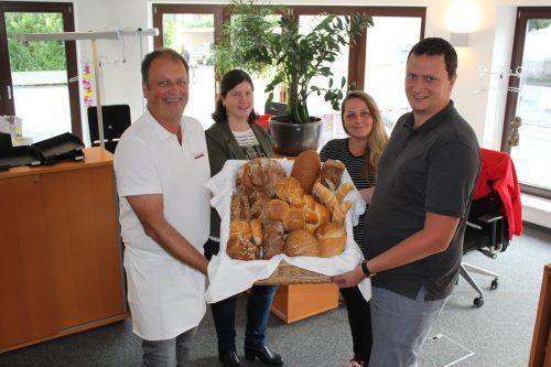Im Rahmen der Brotwoche wird die Vielfalt von heimischem Gebäck aufgezeigt. JS